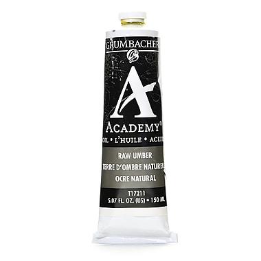 Grumbacher academy oil paint raw umber oz tube for Oil paint colors names