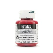 Liquitex Soft Body Professional Artist Acrylic Colors, Red Orange, 2oz, 2/Pack (47810-PK2)