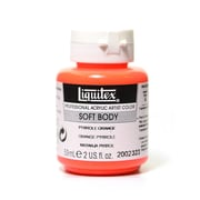 Liquitex Soft Body Professional Artist Acrylic Colors Pyrrole Orange 2 oz. (70128)