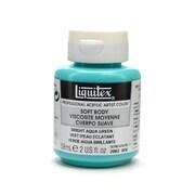 Liquitex Soft Body Professional Artist Acrylic Colors bright aqua green 2 oz. [Pack of 3]
