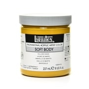 Liquitex Soft Body Professional Artist Acrylic Colors yellow oxide 8 oz.