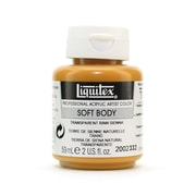 Liquitex Soft Body Professional Artist Acrylic Colors transparent raw sienna 2 oz.