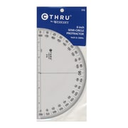 Westcott 180 Degree Protractors 6 in. [Pack of 12]