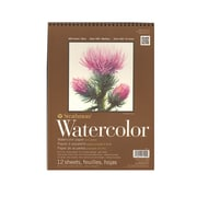 "Strathmore 400 Series Watercolor Pad, 9"" x 12"", Spiral Pad, 3/Pack (42522-PK3)"