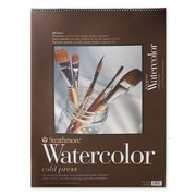 Strathmore 400 Series Watercolor Pad 18 in. x 24 in. spiral pad of 12