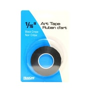 HeadLine Graphic Art Tape black 1/16 in. [Pack of 6]