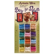 Artistic Wire Buy the Dozen 22 gauge silver plated