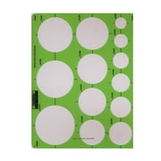 Rapidesign Circle Drafting Templates metric extra large circles 13 circles