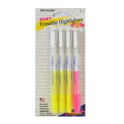 DriMark Erasable Highlighter pack of 4 [Pack of 4]
