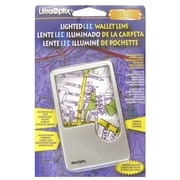 UltraOptix Lighted LED Wallet Lens Magnifier (34579)