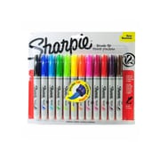 Sharpie Brush Tip Permanent Marker Sets assorted set of 12