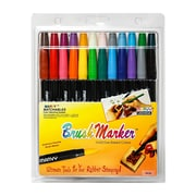 Marvy Uchida Brush Marker set of 24