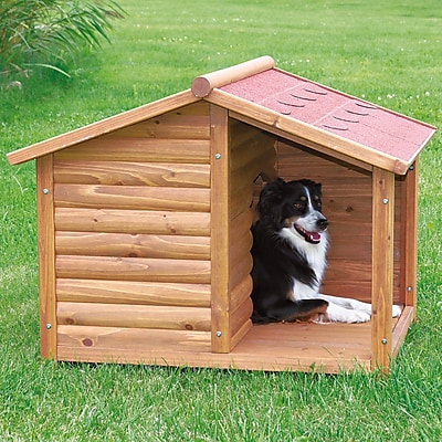 Trixie Rustic Dog House; Medium (32.25 H