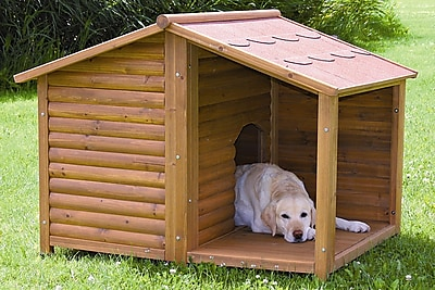 Trixie Rustic Dog House; Large (39.25 H