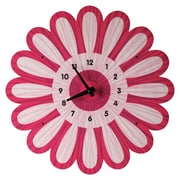 Modern Moose Bloom Wall Clock