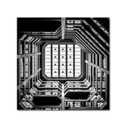 Trademark Fine Art Dave MacVicar 'Ceiling View'  24 x 24 (ALI0819-C2424GG)