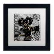 Trademark Fine Art Roderick Stevens 'Movie Camera'  11 x 11 (RS1002-B1111MF)