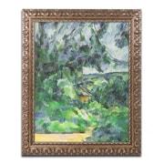 Trademark Fine Art Paul Cezanne 'Blue Landscape 1903'  11 x 14 (BL0294-G1114F)