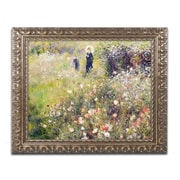 Trademark Fine Art Pierre Renoir 'Summer Landscape'  11 x 14 (BL0363-G1114F)