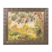 Trademark Fine Art Pierre Renoir 'Spring Landscape'  11 x 14 (BL0766-G1114F)
