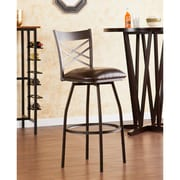 Wildon Home   Salem 24'' Swivel Bar Stool with Cushion