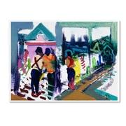 Trademark Fine Art Lowell S.V. Devin 'The Shrine'  18 x 24 (LSV0069-C1824GG)
