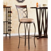 Wildon Home   Larsen 30'' Swivel Bar Stool with Cushion