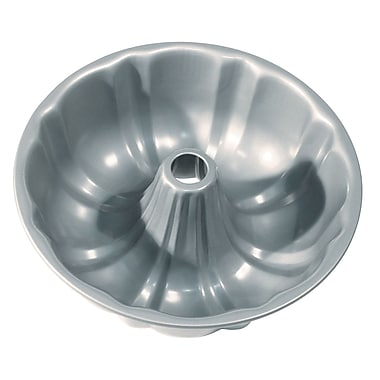 Fox Run Craftsmen Non-Stick Fluted Cake Pan with Center Tube
