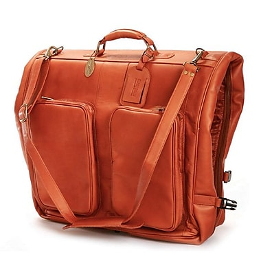 Claire Chase Luggage Classic Garment Bag; Saddle