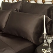 Scent-Sation Charmeuse Satin King Pillow Case (Set of 2); Emerald