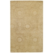 Capel Spindles Beige Area Rug; 5' x 8'