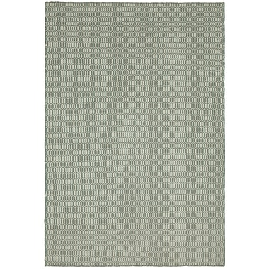 Chandra Diva Green Area Rug; 5' x 7'6''