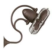 Matthews Fan Company 13'' Oscillating Wall Fan; Textured Bronze