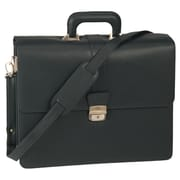 Royce Leather Exeuctive Legal Genuine Leather Briefcase; Black