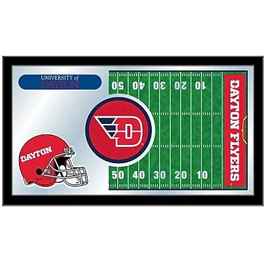 Holland Bar Stool NCAA Football Mirror Framed Graphic Art; University of Dayton