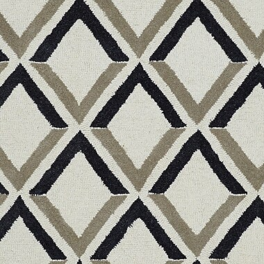 Dynamic Rugs Palace Ivory Geometric Area Rug; 2' x 4'