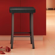 Amisco Urban Style 25.5'' Bar Stool with Cushion