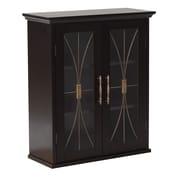 Elegant Home Fashions Delaney 20.5'' x 24'' Wall Mounted Wall Cabinet
