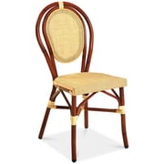 Adriano Vienna Side Chair (Set of 2); Yellow
