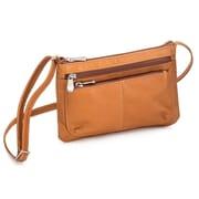 Le Donne Leather Waverly Crossbody Bag; Tan