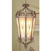 Livex Lighting Bristol Manor 2 Light Foyer Pendant; 76'' H x 40'' W x 40'' D / Candelabra Base Bulb