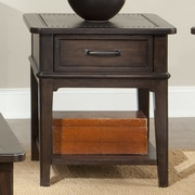 Emerald Home Furnishings Crystal Ridge End Table