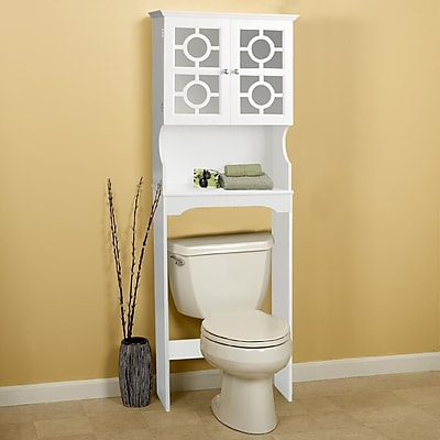 Hazelwood Home 24.38'' x 67.73'' Over the Toilet Cabinet