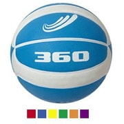 360 Athletics PGB7R Playground Rubber Basketball, Size 7, Red, 5/Pack