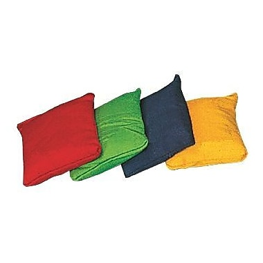 360 Athletics PBBS Bean Bag, 5''x4'', Assorted Colours, 12/Pack