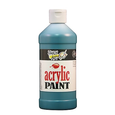 Handy Art 101-045 Acrylic Paint, 16oz, Green, 12/Pack