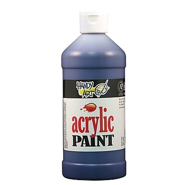 Handy Art 101-075 Acrylic Paint, 16oz, Violet, 12/Pack