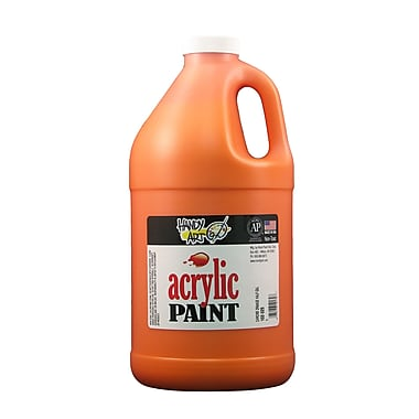 Handy Art 103-025 Acrylic Paint, 32oz, Orange