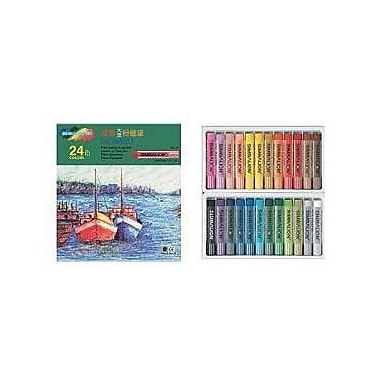 Rose OP25/S Soft Oil Pastels, Regular Size, 25 Pastels/Case, 12 Cases/Pack