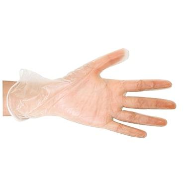 Bios Vinyl Disposable Gloves, Large, 100/Pack (FS343)